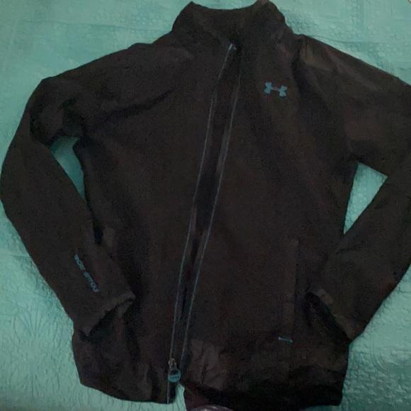 Black under armor jacket medium